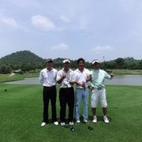 タイ国際航空杯ゴルフツアーを支える人たちは ・・・