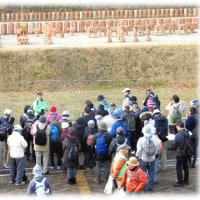 大寒の冷たい雨が降る中…(^^♪いばらき観光ウォーク「古墳をめぐるコース~高槻西部から茨木へ」に参加