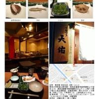 上野毛から用賀までの散策、途中の矢沢川右岸で、揚げてて天ぷら「天佑4000円コース」