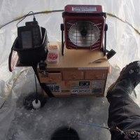 ワカサギ釣り情報:高気圧は空も湖もピーカンにする・・・そしてエリア拡大!