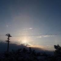 午前中、ひどい雨だったけど。2月19日、日の出のころのその後。