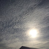 金曜日の空、弍。