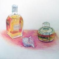 色鉛筆で緻密なものを描く