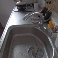 朝ごはん後の洗い物のみ