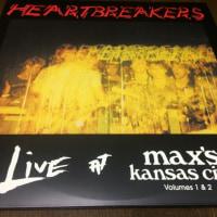HEARTBREAKERS / LIVE AT MAX'S KANSAS CITY (VOLUMES 1 & 2)