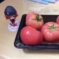 マイハニーの誕生日なんでトマトを食べました💕