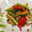 ニンニクの芽入り肉野菜炒め