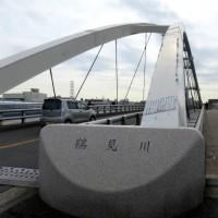 旧東海道を歩く;鶴見川