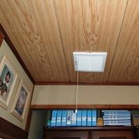 夏場に戸建住宅の天井面付近にこもる熱気を排出。室温を下げ、快適性が向上する「換気排熱ファン」