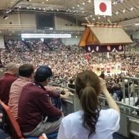 大相撲春場所 11日目