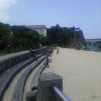海開き間近