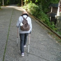 加茂山公園で紅葉前の散歩