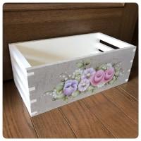 花柄のプランターボックス?
