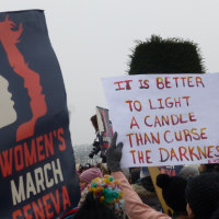 デンマーク: 5,000 join Women's March in Copenhagen