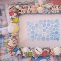 りんくうビーチサマーフェス ネイチャークラフト海の工作 作品