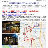 第2回 日本橋から新しい東京駅、神田界隈の旅     東京散策(路地歩き)夕刻からのお誘い③