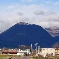 時沢から見た赤城山