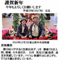 謹賀新年 平成29年(2017年)1月1日   170101(日)