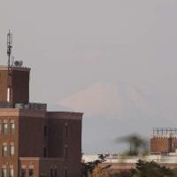 2016年12月4日,今朝の富士山