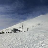 広島グループとのスキー1)