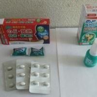 風邪かも~喉がいたい。ツルハで風邪薬を買った。