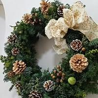クリスマスリースとお正月飾り