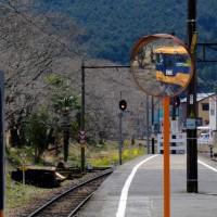 大井川鐵道を撮りに行きました(家山駅にて)