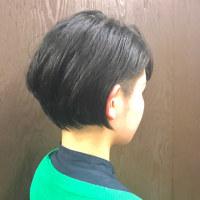 川越美容室kitaro*2ブロックショート