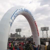 走ってきました、平和マラソン。