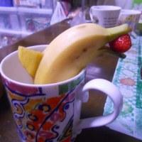 バナナでイルカ