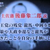坂本龍馬暗殺の謎?