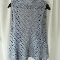 棒針編みでジレー♪
