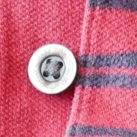シャツの緩いボタンホールを改良