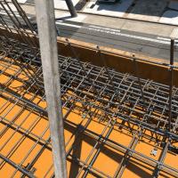 中村町八丁目共同住宅の3F配筋検査