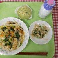 4月18日の給食 日本のハーブ