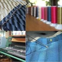 ネクタイの縫製工場
