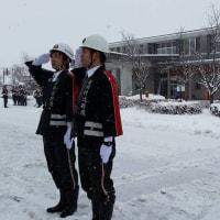 松川村消防団出初式