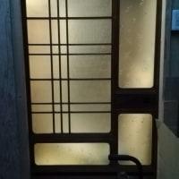 お宝引き戸の設置