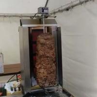 三八畜産フードフェアで田子豚ケバブを販売しました