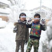 こんな雪の日は