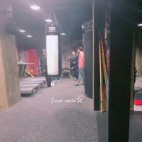 昨日の撮影~🎬 クォン・サンウ チェ・ガンヒ『推理の女王』 23日遅れた時間に#ルナフィットネスで撮影しました。