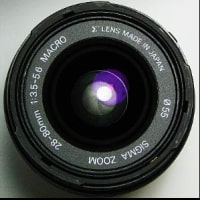 ����406�¡�SIGMA ZOOM  28-80mm F3.5-5.6 MACRO ASPHELICAL�ߥΥ륿��