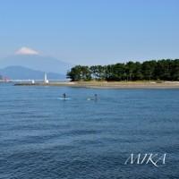 船上からの富士山。。。駿河湾☆