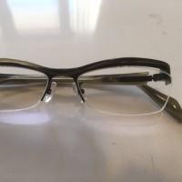 眼鏡が・・・(+o+)