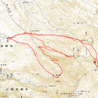 2010.05.02三段山→前十勝。05.03十勝岳。