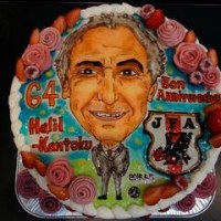 サッカー日本代表監督 ハリルホジッチさんのバースデーケーキをお作り致しました☆