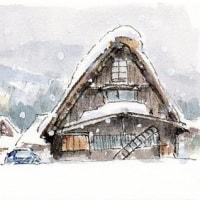 雪の白川郷(3)