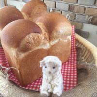 山型食パンと黒ごまプリン講習日♪