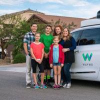 Google系ウェイモ、米国西部で自動運転タクシー試験サービス開始。