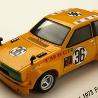 1/43【レーヴコレクション】トヨタ スターレット 1973 富士スピードウェイテスト (TS仕様) KIDBOX